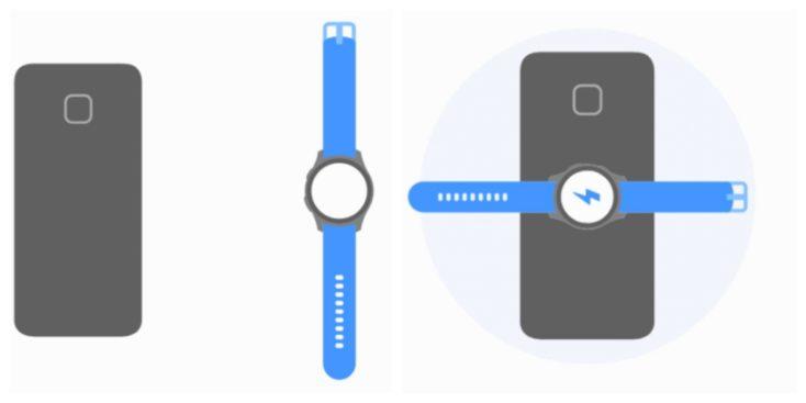 Kabellos Laden Smartwatch