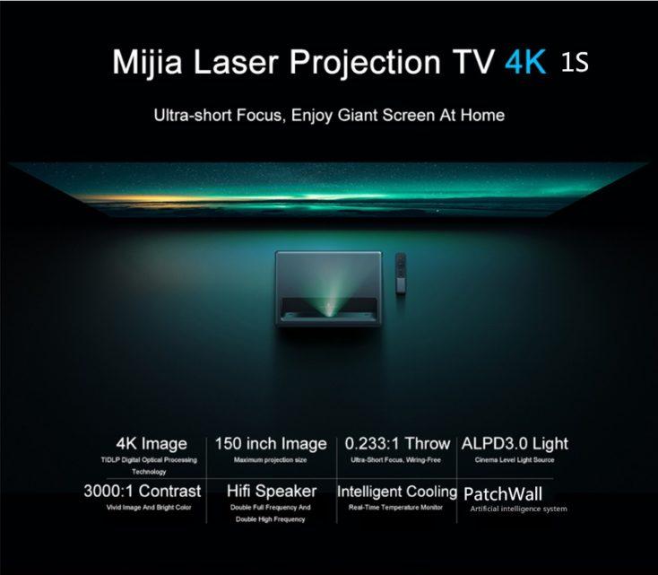 Mijia Laser Projector 4K 1S Daten