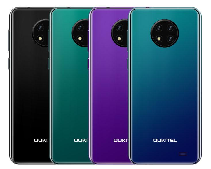 Oukitel C19 Smartphone Rueckseite Farben e1592990707567