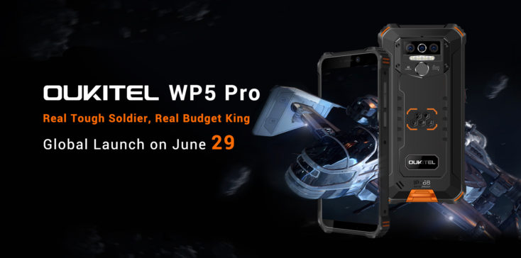 Oukitel WP5 Pro Smartphone Header