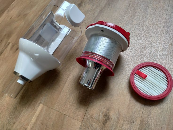 Puppyoo T10 Home Akkustaubsauger Filter Elemente
