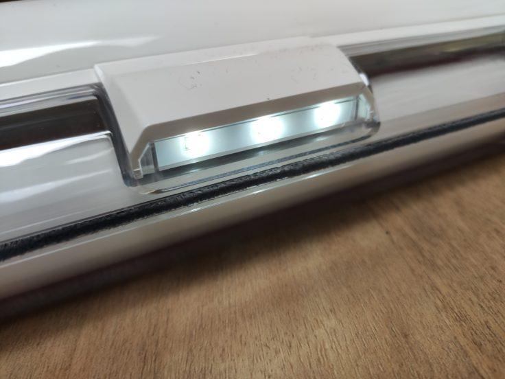 Puppyoo T10 Home Akkustaubsauger LED Leuchten Dunkelheit
