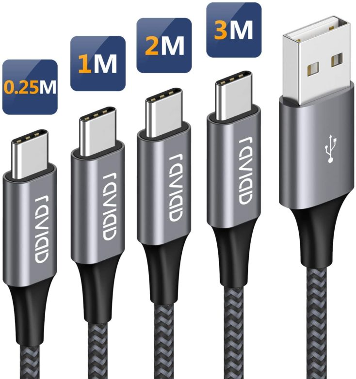 RAVIAD USB Typ C Kabel Multipack 1