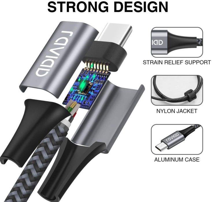 RAVIAD USB Typ-C Kabel Verarbeitung