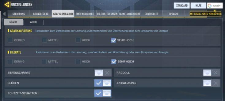 Realme 6 Pro Gaming Einstellungen