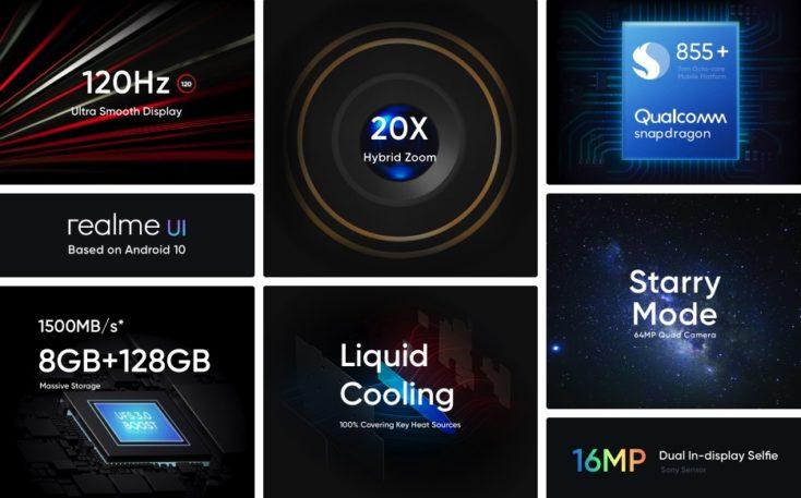 Realme X3 Smartphone Specs