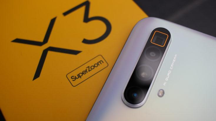 Realme X3 SuperZoom Kamera nah