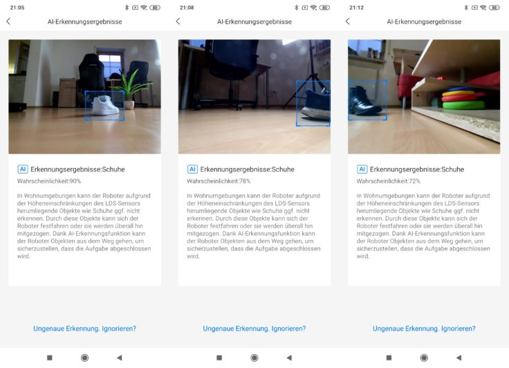 Roborock S6 MaxV Saugroboter Bilder Funktion Update