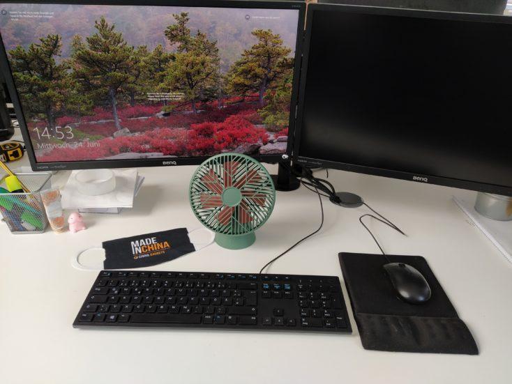 SOTHING Ventilator Schreibtisch