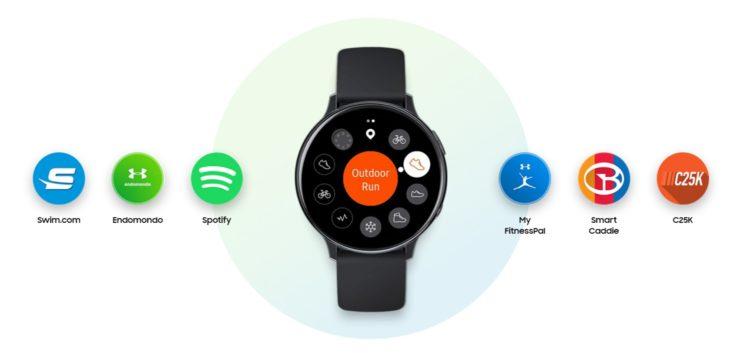 Samsung Galaxy Watch Active2 Strava