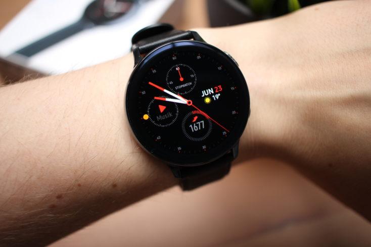 Samsung Galaxy Watch Active 2 Benachrichtigung