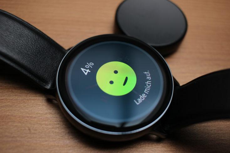 Samsung Galaxy Watch Active 2 Laden