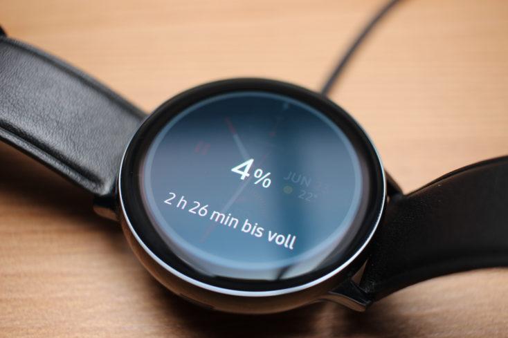 Samsung Galaxy Watch Active 2 Ladezeit