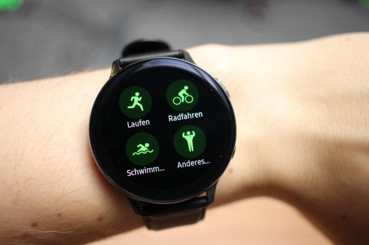 Samsung Galaxy Watch Active 2 Sport Widget