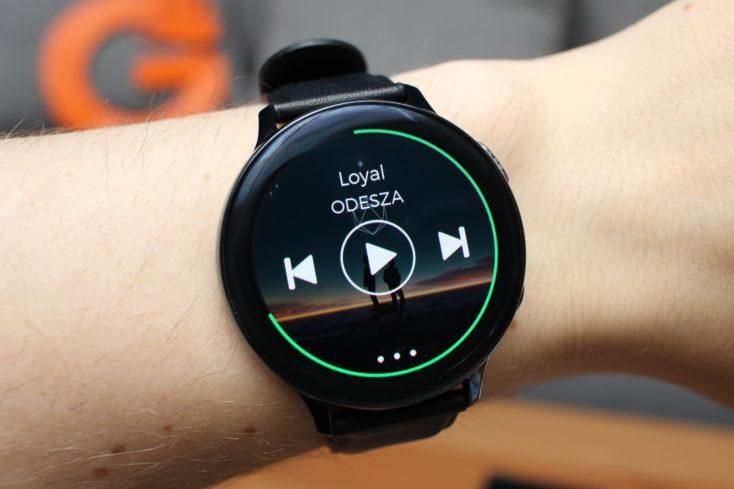 Samsung Galaxy Watch Active 2 Spotify