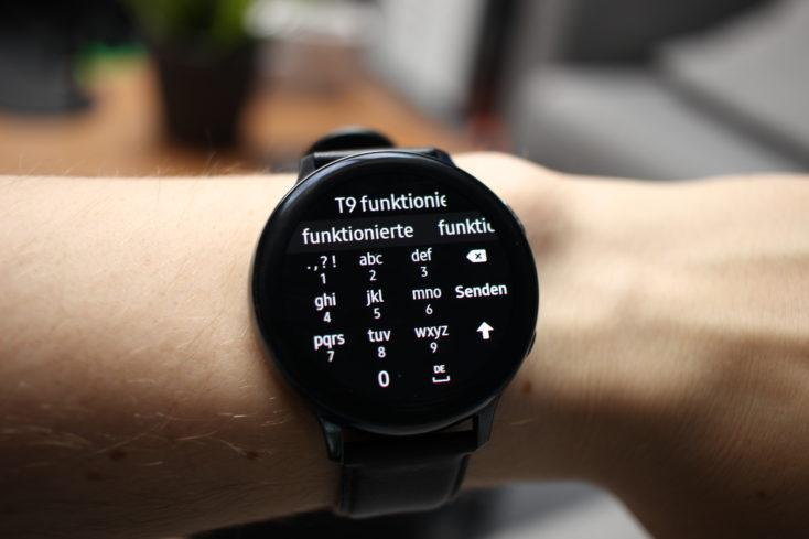 Samsung Galaxy Watch Active 2 T9 Tastatur