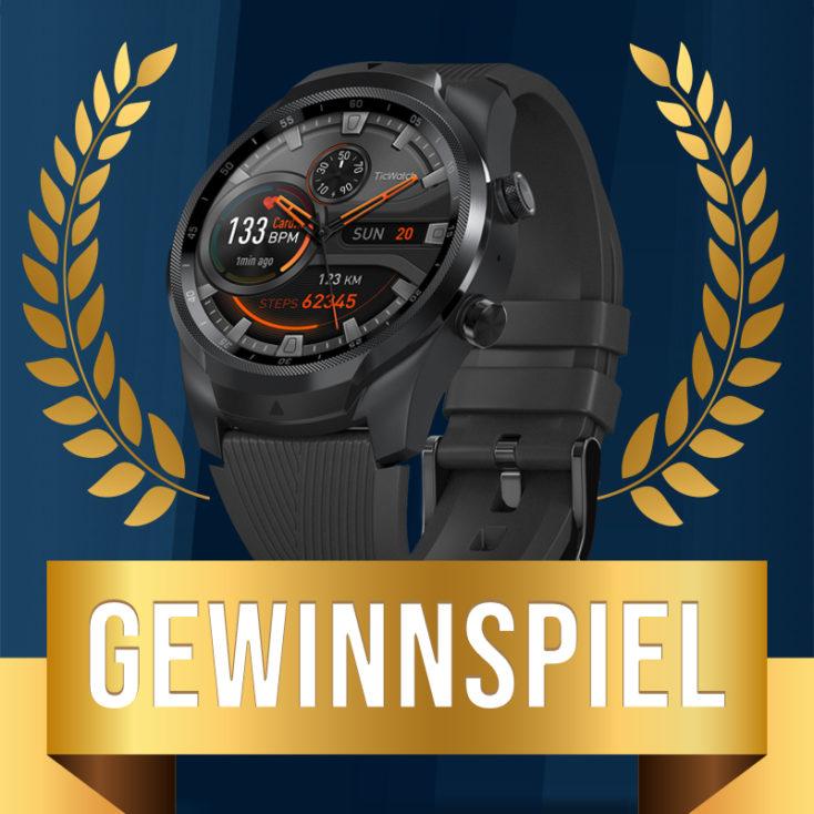 Ticwatch Pro Gewinnspiel Beitrag