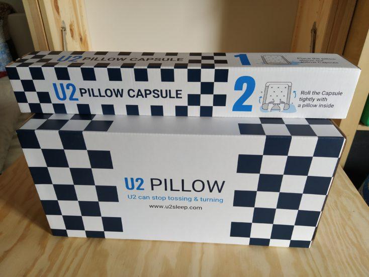 U2 Kissen Verpackung