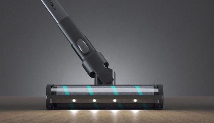 Viomi Akkustaubsauger LED Leuchten