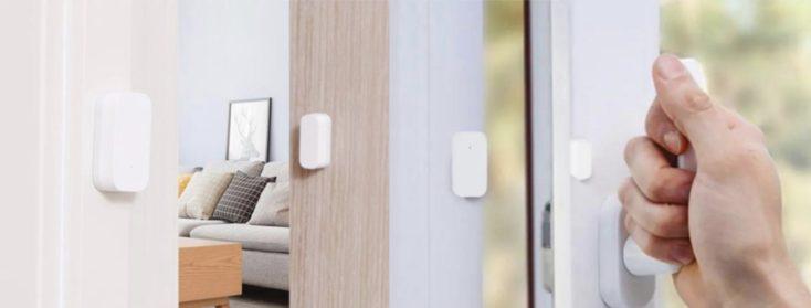 Xiaomi Aqara Fenster  Tuersensor zusammen