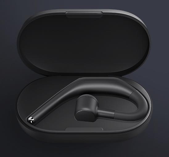 Xiaomi Bluetooth Headset Pro Kopfhoerer in der Ladeschale