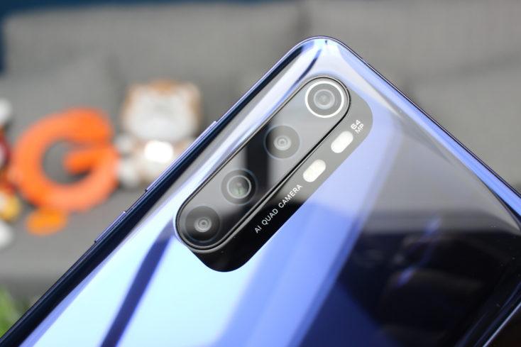 Xiaomi Mi Note 10 Lite Kamera