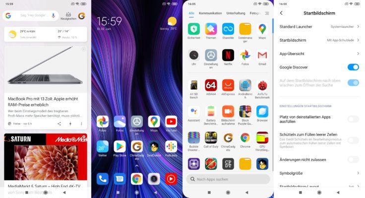 Xiaomi Mi Note 10 Lite MIUI 11 Software