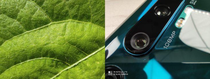 Xiaomi Mi Note 10 Lite Makro