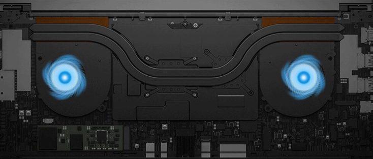 Xiaomi Mi Notebook Pro 2020 Kuehlung