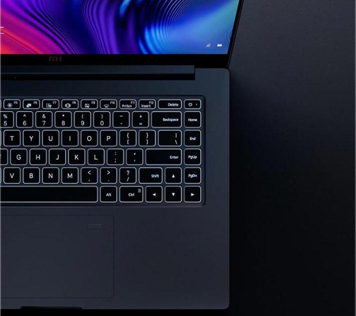 Xiaomi Mi Notebook Pro 2020 Tastatur
