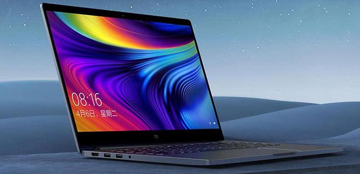 Xiaomi Mi Notebook Pro 2020 von der Seite
