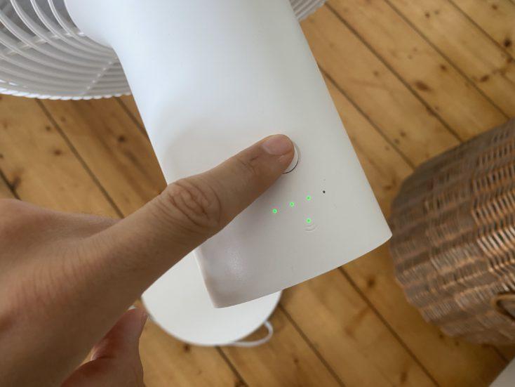 Xiaomi Smartmi Standing Fan 2 Ventilator Bedienung