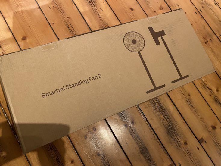 Xiaomi Smartmi Standing Fan 2 Verpackung