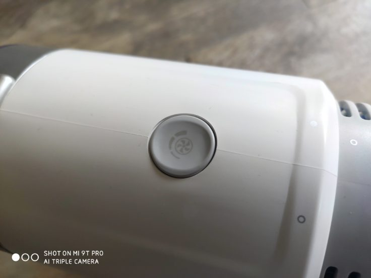 eufy HomeVac S11 Infinity Akkustaubsauger Saugstufe umstellen