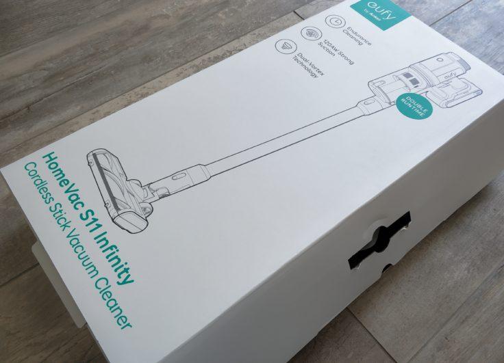 eufy HomeVac S11 Infinity Akkustaubsauger Verpackung
