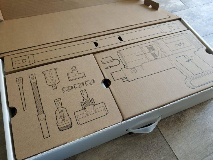 eufy HomeVac S11 Infinity Akkustaubsauger Verpackung Lieferumfang
