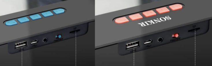 Speaker Rückseite Vergleich