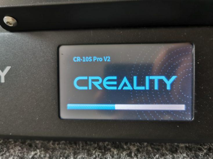 Creality3D CR-10S Pro V2 3d-boot