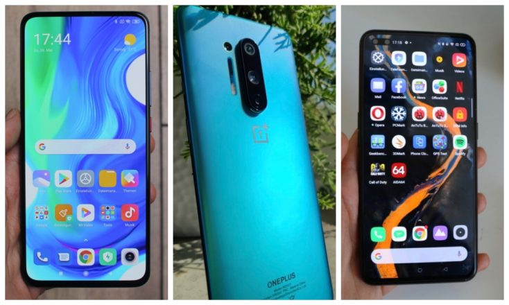 5G-fähige Smartphones