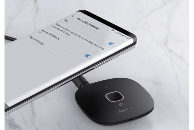 AUKEY Bluetooth Empfaenger Smartphone