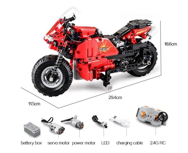 CaDA C51024 Motorrad 3