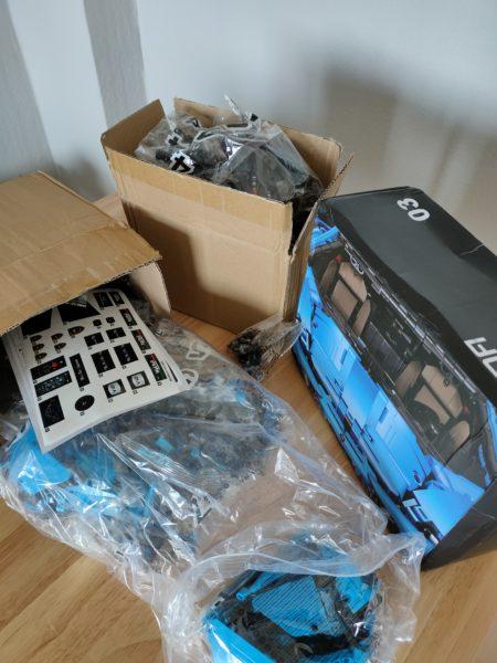 CaDA C61041 Versand und Verpackung