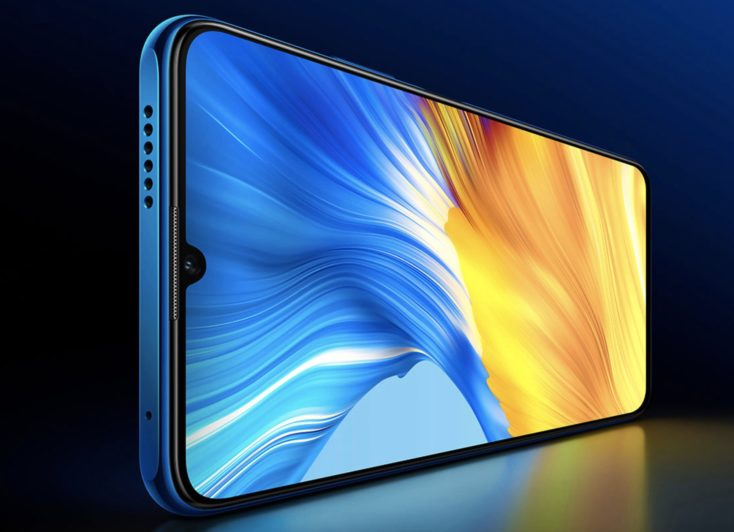 Honor 10X Max 5G display