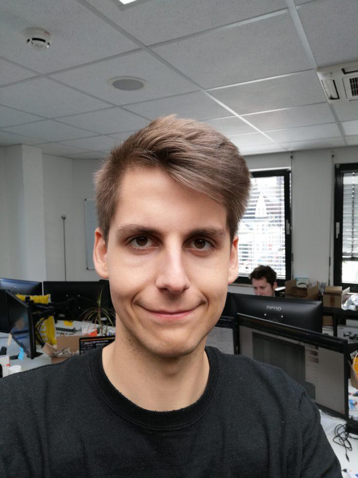 Honor 20S Testfoto Frontkamera Selfie