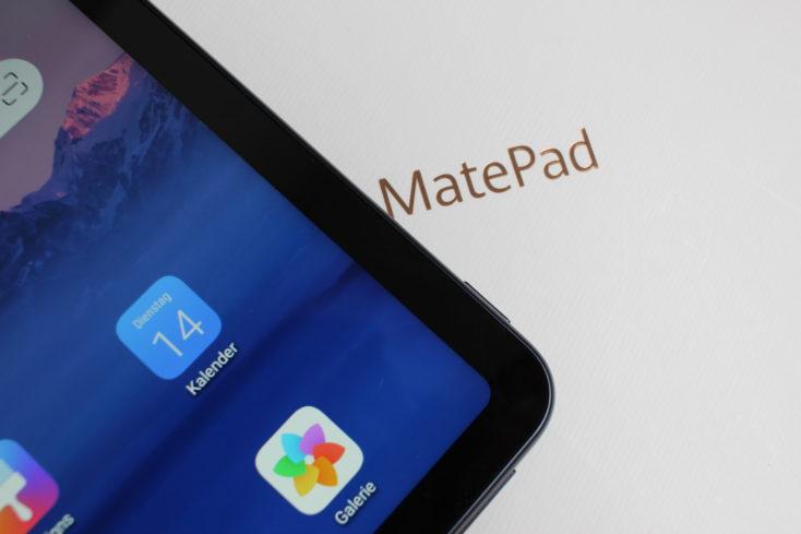 Huawei Matepad Bildschirmrand