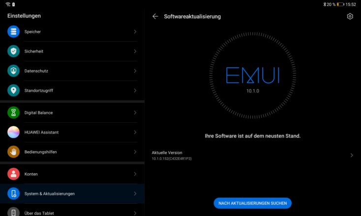 Huawei Matepad EMUI