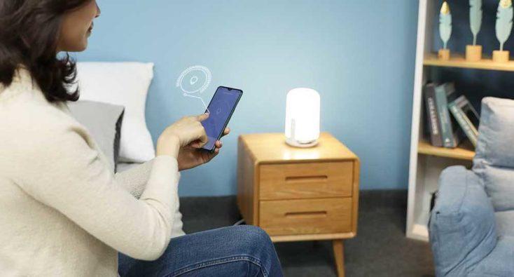 Midian Nachttischlampe App Steuerung