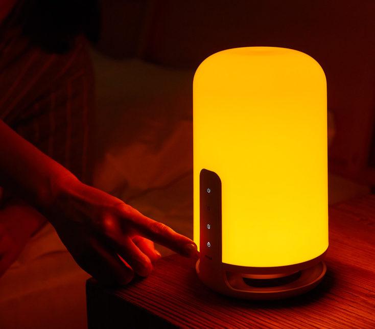 Midian Nachttischlampe Bedienung
