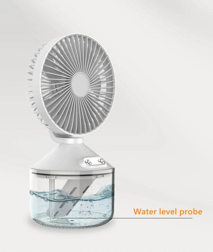 Nebelventilator Wassertank