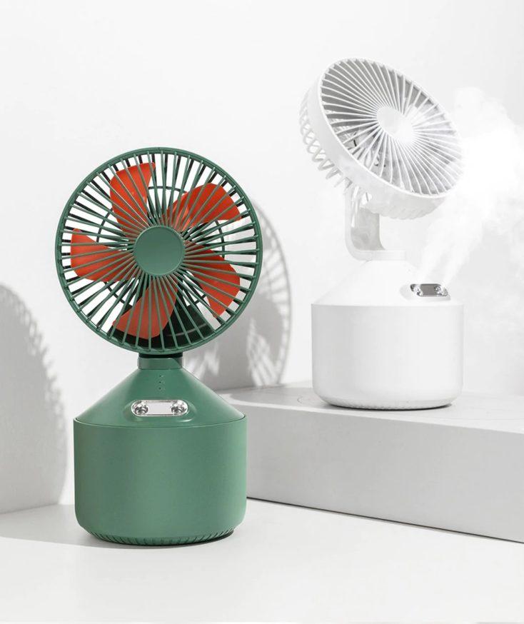 Nebelventilator im Profil